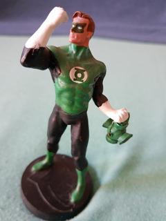 Figura De Plomo Dc Aguilar Linterna Verde