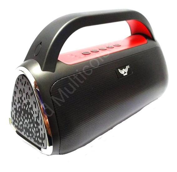 Caixa Som 15w Bluetooth Sd Fm Mega Bass Speaker Altomex Reca