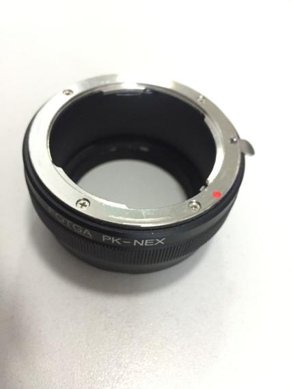 Adaptador Lente Pentax Pk Para Câmeras Sony E-mount A7 A6500