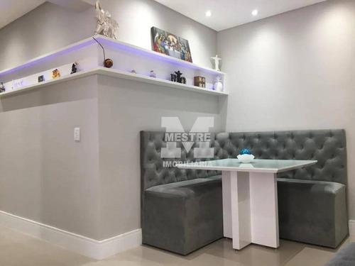 Apartamento Com 2 Dormitórios À Venda, 58 M² Por R$ 360.000,02 - Jardim Flor Da Montanha - Guarulhos/sp - Ap2413