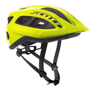 Capacete Bike Ciclismo Mtb Scott Supra 2019 Amarelo Fluor