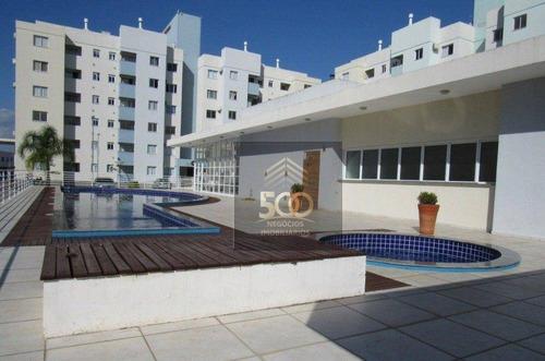 Apartamento Semimobiliado Com 2 Dormtórios - Bela Vista- Palhoça - Ap2242