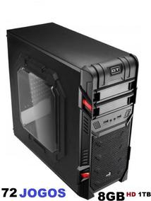 Cpu Gamer A4 6300 3.7 Ghz 8gb Gta V 72 Jogos C/gravador Dvd