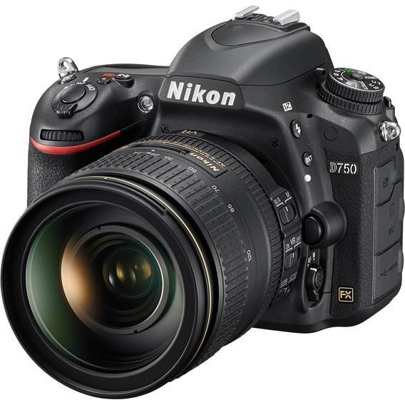 Câmera Nikon D750 + Lente 24-120mm F/4g Ed Vr - Lj. Platinum