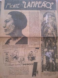 Lampião Cangaço, Recortes, Cartas Originais Maria Bonitan180