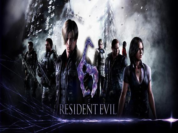 Resident Evil 6 Pc Original Steam Key