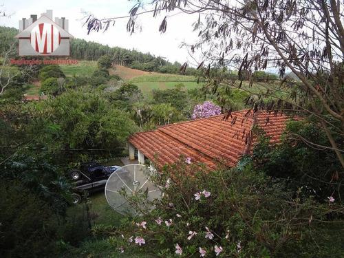 Chácara Com 02 Dormitórios À Venda, 37000 M² Por R$ 450.000 - Zona Rural - Pinhalzinho/sp - Ch0206