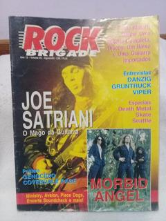Revista Rock Brigade Agosto 1993 Joe Satriani (microcentro)