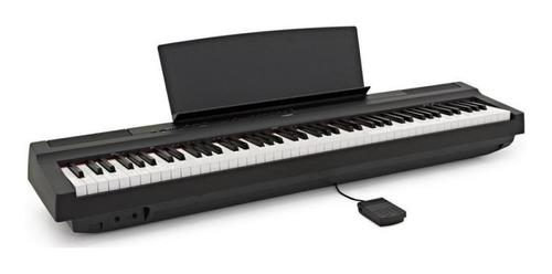 Imagen 1 de 4 de Piano Digital 88 Teclas Yamaha P125b  Entrega Inmediata