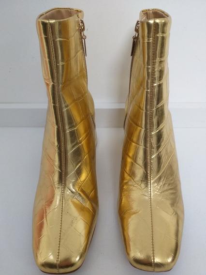 Bota Dourada Schutz. Bota Schutz Original