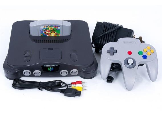 N64 Nintendo 64 Completo + Super Mario 64
