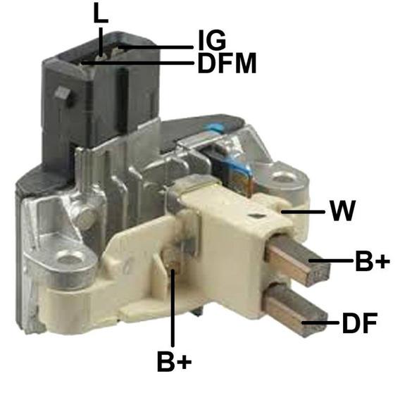 Regulador De Voltagem 14v Bmw Serie 5 Saloon, Tourin Ga036