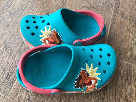 Crocs Moana Com Luz
