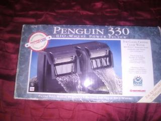 Filtro De Pecera Penguin 330 Con Tubo Extractor De Agua