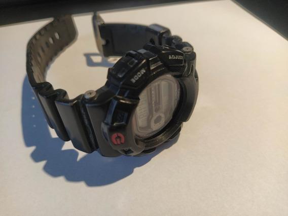 Relógio G-shock Gulfman Titânio Modelo G-9100 Falha Lcd