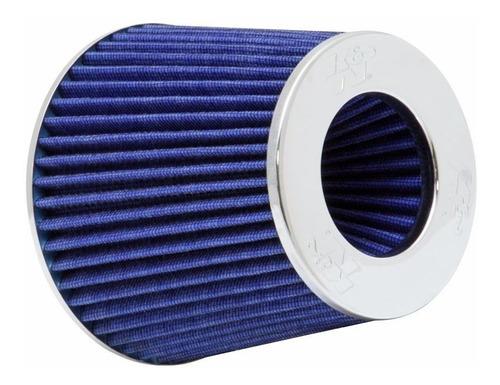 Filtro Aire Biconico Grande Auto Competición Depotivo Azul