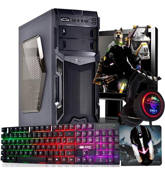 Pc Completo Gamer I5 / Promoção / Geforce + Jogos