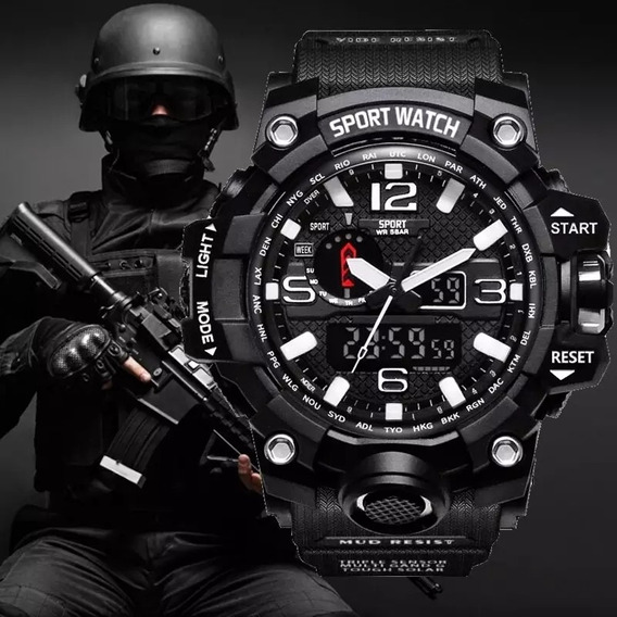 Relogio Militar Sport Watch