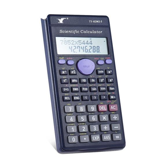 Contador Scientific Calculator 240 Fun??es 2 Line Lcd