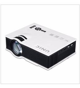 Mini Projetor Uc40+,hdmi/vga/usb/card 120 Pol Original Un