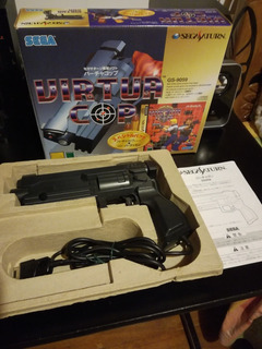 Sega Saturn Virtua Cop Gun
