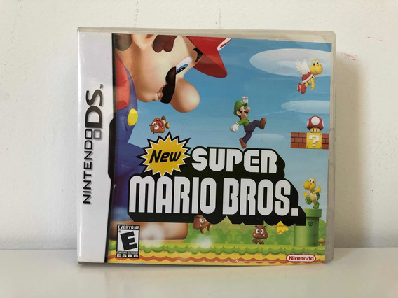 Jogo New Super Mario Bros Nintendo Ds Original