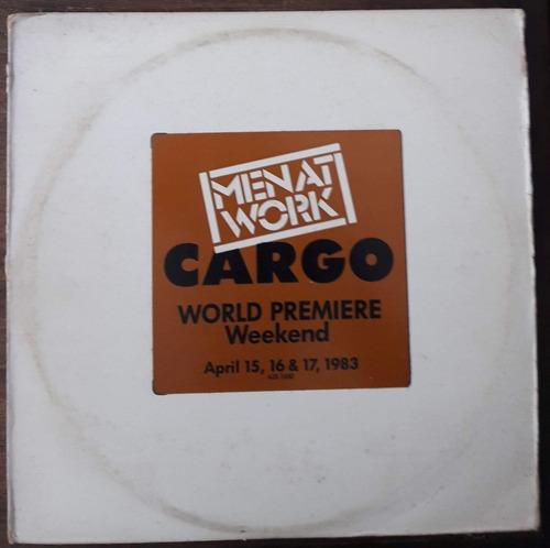 2x Lp Vinil Men At Work Cargo World Premiere Ed Us 1983 Raro