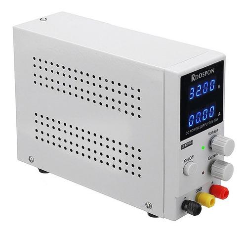 Imagen 1 de 6 de Fuente Alimentación Regulable 30v 10a 4 Dígitos + Kit Cables