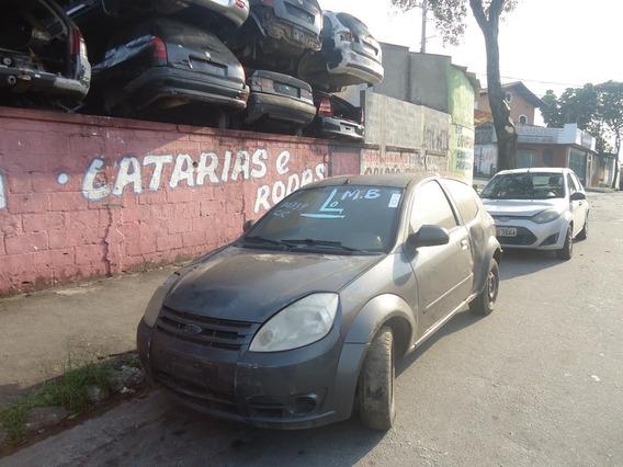 Sucata Ford Ka Porta Maquina Vidro Fechadura Maçaneta Forro