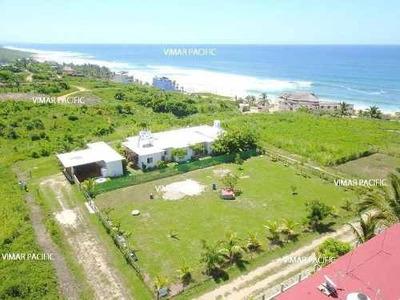 Casa De Playa Con Hermosa Vista Al Mar Playa Agua Blanca
