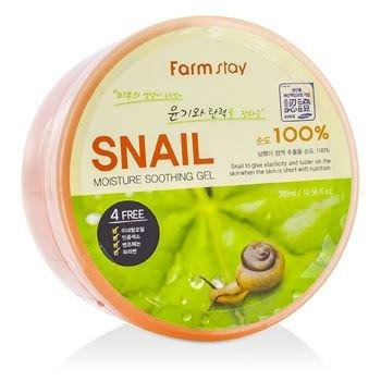 Farm Stay Moisture Soothing Gel - Snail 300ml/10.56oz