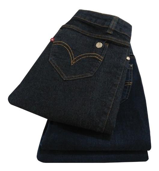 Calça Jeans Feminina Skinny Com Lycra 36 A 46