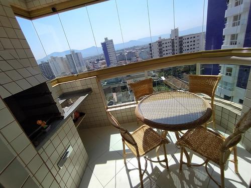 Imagem 1 de 13 de Apartamento 1 Dormitório Suite, 200 Metros Da Praia !
