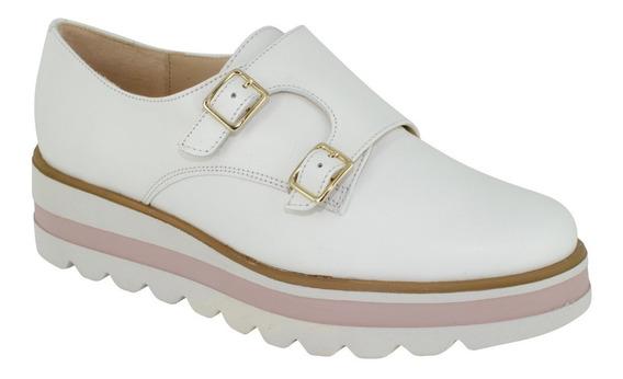 Zapatos De Piel Con Hebillas Para Dama. Vicenza 2404
