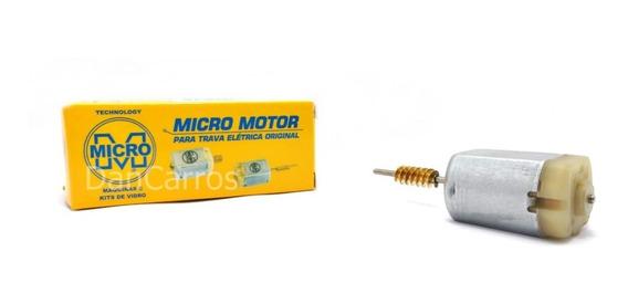Micro Motor Mabuchi Fechadura Elétrica Gol Voyage Saveiro G5