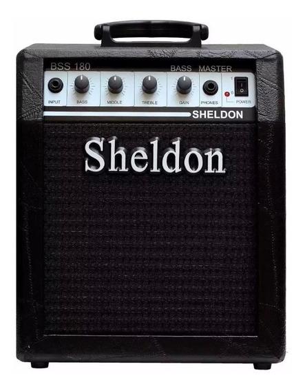 Amplificador Para Baixo Cubo Caixa Sheldon Bss180 18w Rms