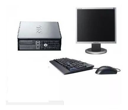 Pc Completo Dell C/ Monitor 17 Teclado/mouse