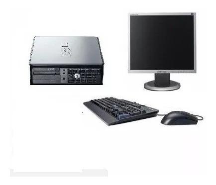 Pc Completo Dell C/ Monitor Teclado/mouse Completo