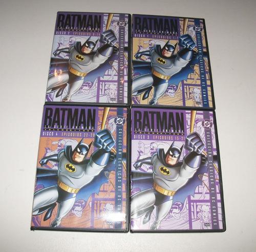 Imagen 1 de 3 de Batman: La Serie Animada Vol.3 / Cuatro Dvds Originales