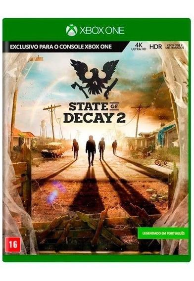 State Of Decay 2 Xbox One Mídia Física Usado