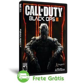 Call Of Duty Pc Black Ops 3 Português Mídia Física + Dlc