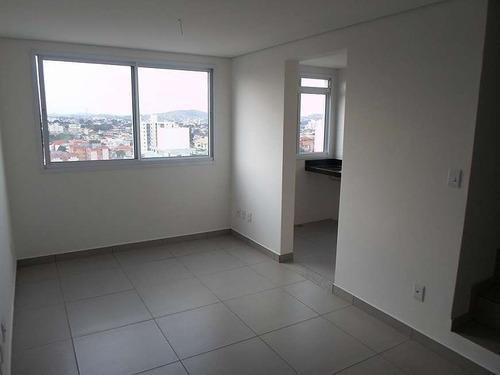 Imagem 1 de 21 de Cobertura Duplex À Venda, 2 Quartos, 1 Suíte, 2 Vagas, Heliopolis - Belo Horizonte/mg - 1920