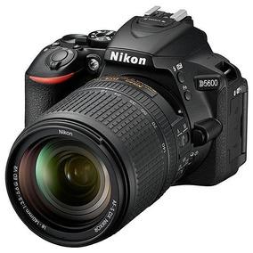 Câmera Nikon D5600 24.2mp Bluetooth/wi Fi/nfc + Lente Af-s D