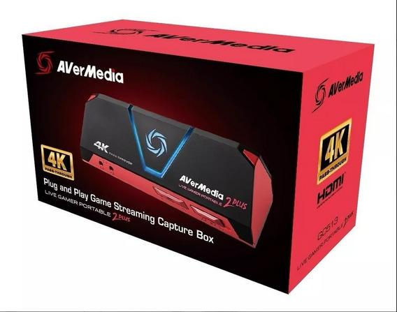 Avermedia Live Gamer Portable 2 Plus 4k Lgp2 Plus Gc513 4k