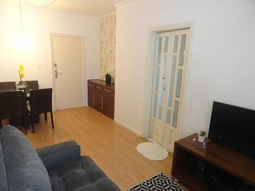 Apartamento Com 1 Dormitório À Venda, 50 M² Por R$ 270.000,00 - Marapé - Santos/sp - Ap4910