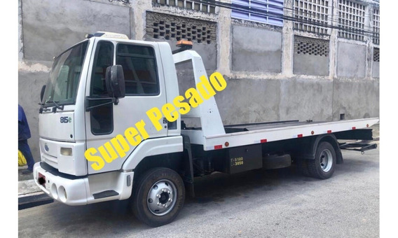 Ford Cargo 815 Plataforma Guincho Com Asa Delta