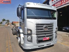 Caminhão Vw 24-250 Constellation, 2012, No Chassi, Impecável