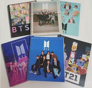 Bts 4 Cuadernos Universitarios Kpop Calidad Oferta