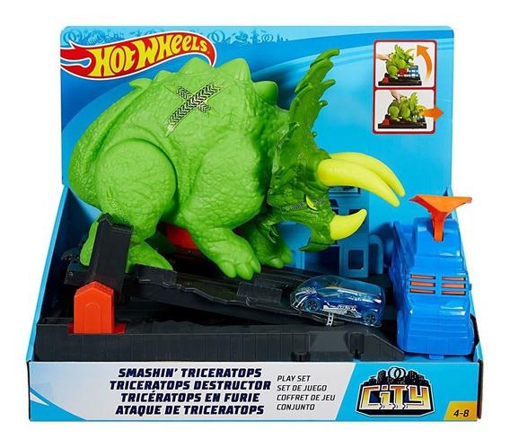 Hot Wheels City, Pista Triceratops Destructor