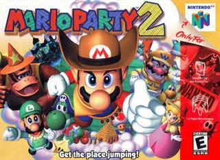 Mario Party 2 N64
